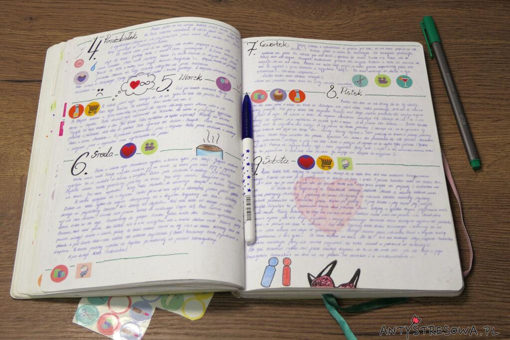 Bullet Journal - pamiętnik, dziennik i kalendarz