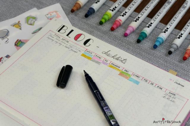 Bullet Journal dla blogera i blogerki