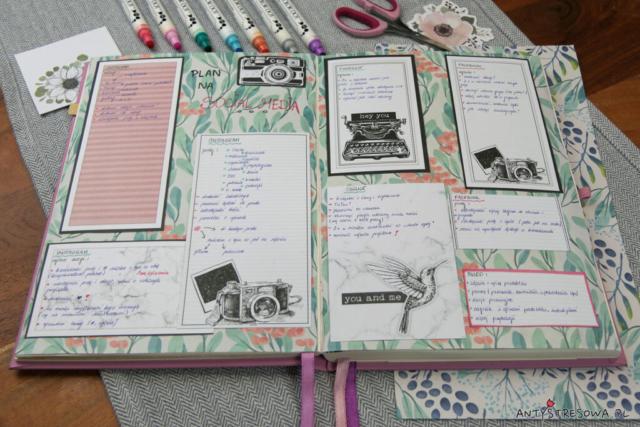 Zaplanuj swój blog i social media